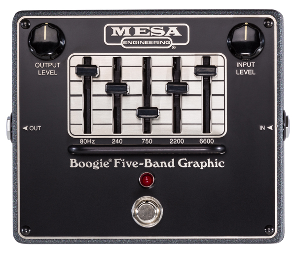 Mesa Boogie FIVE-BAND GRAPHIC 新品 イコライザー[メサブギー][ファイブバンドグラフィック][Equalizer][Effector,エフェクター][FIVE BAND]