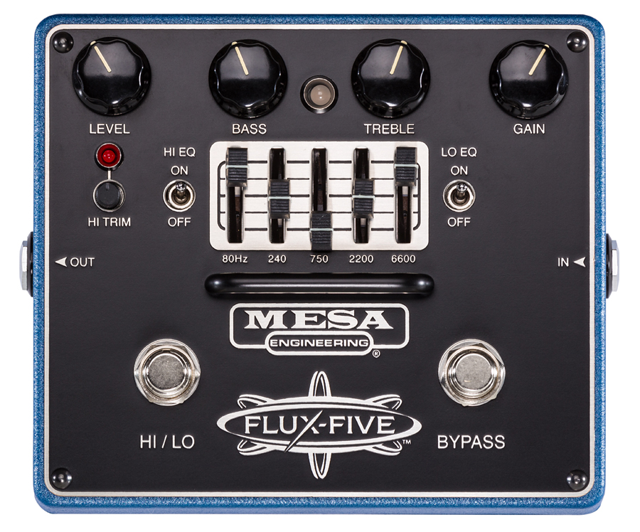 Mesa Boogie FLUX-FIVE 新品 ディストーション[メサブギー][フラックスボックス][Distortion][Effector,エフェクター][FLUX FIVE]