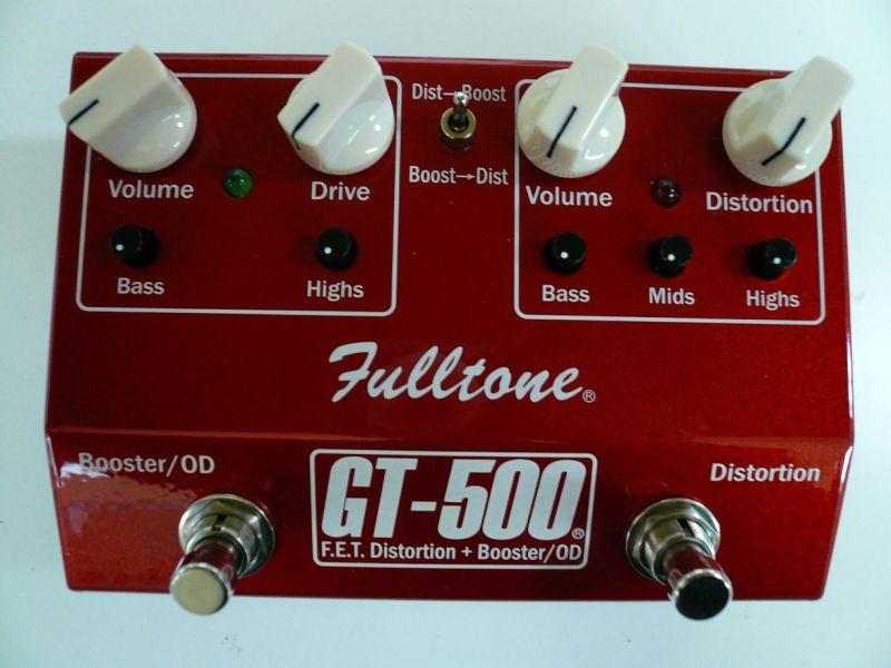 Fulltone GT-500 新品 オーバードライブ/ディストーション[フルトーン][GT500][overdrive,Distortion][Effector,エフェクター]