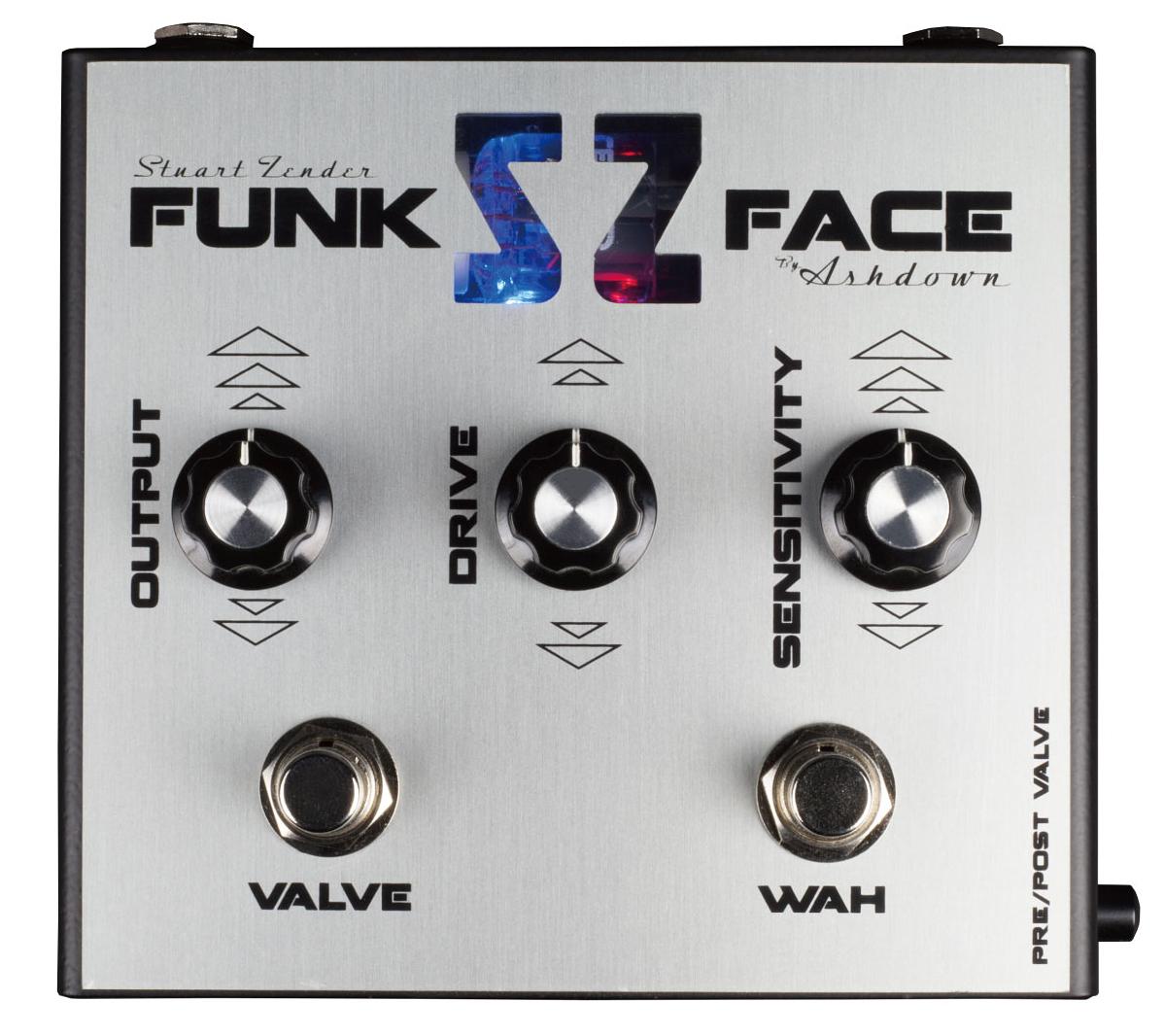 Ashdown SZ Funk Face 新品 フィルター[アッシュダウン][ファンクフェイス][スチュワートゼンダー][ベース用][Filter][Effector,エフェクター,ペダル]