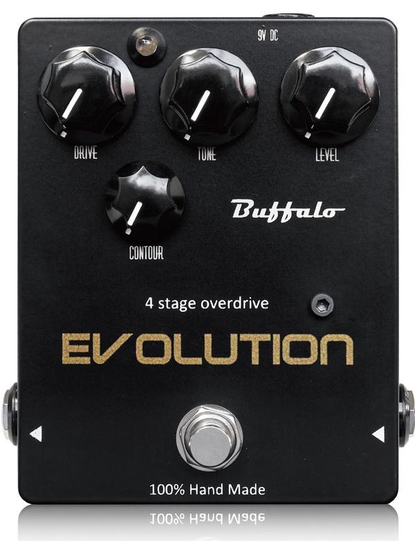Buffalo FX / Evolution 新品 オーバードライブ[バッファロー][エボリューション][Overdrive][Effector,エフェクター]