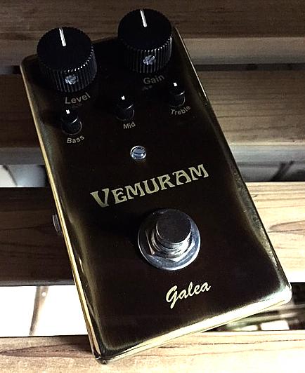 VEMURAM Galea 新品 オーバードライブ[ベムラム][ガレア][Overdrive][Effector,エフェクター]