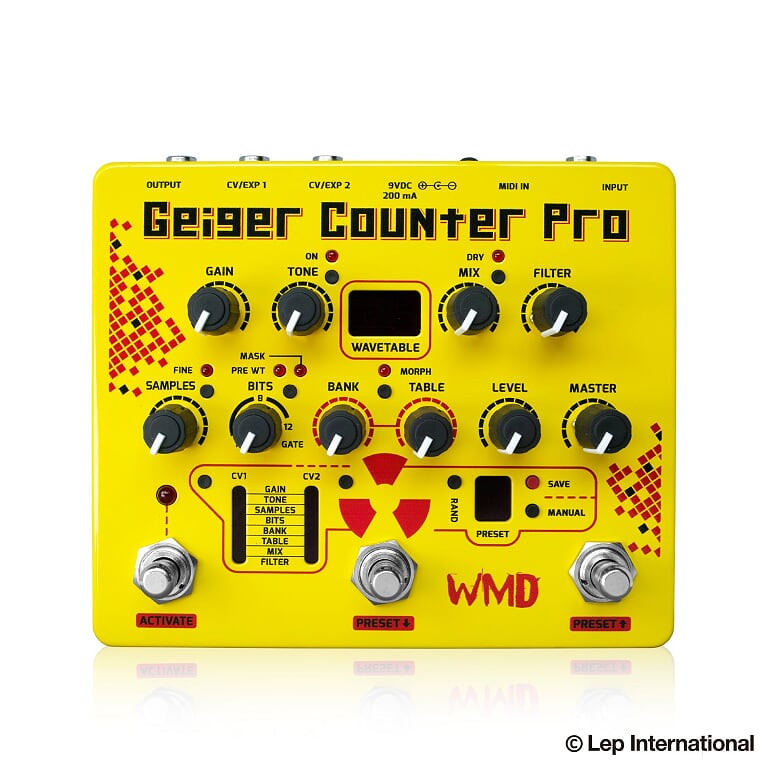 WMD Geiger Counter Pro 新品 ファズ[ガイガーカウンタープロ][ビットクラッシャー][Fuzz][Effector,エフェクター]【used_エレキギター】