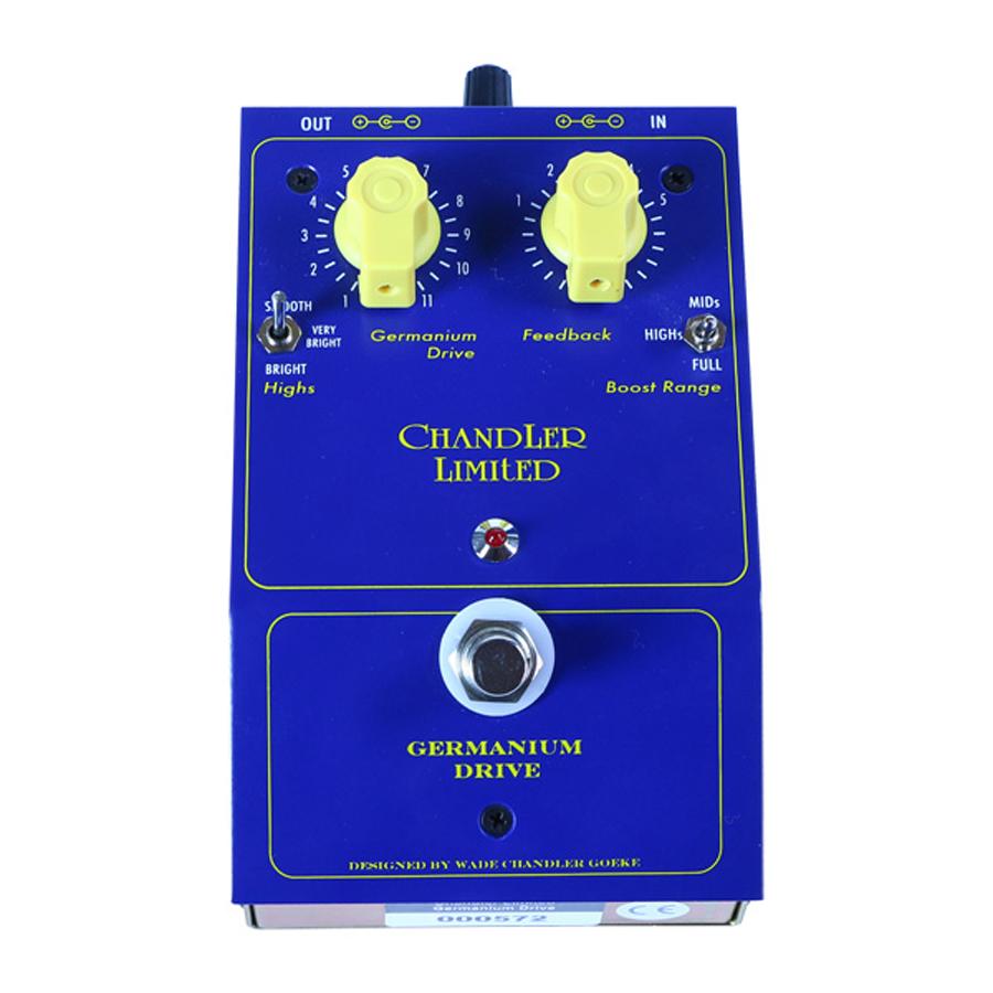 【受注生産】Chandler Limited Germanium Drive 新品 オーバードライブ[チャンドラーリミテッド][ゲルマニウムドライブ][Overdrive][Effector,エフェクター]