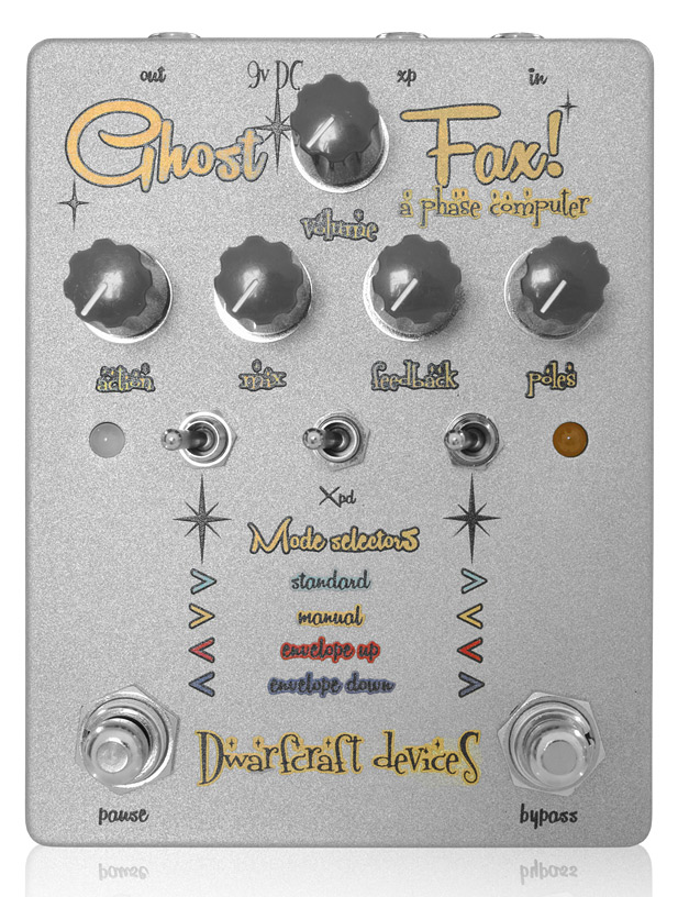 Dwarfcraft Devices Ghost Fax 新品 フェイザー[ドワーフクラフトデヴァイセズ][ゴーストファックス][Overdrive,オーバードライブ][Phaser][Effector,Pedal,エフェクター,ペダル]