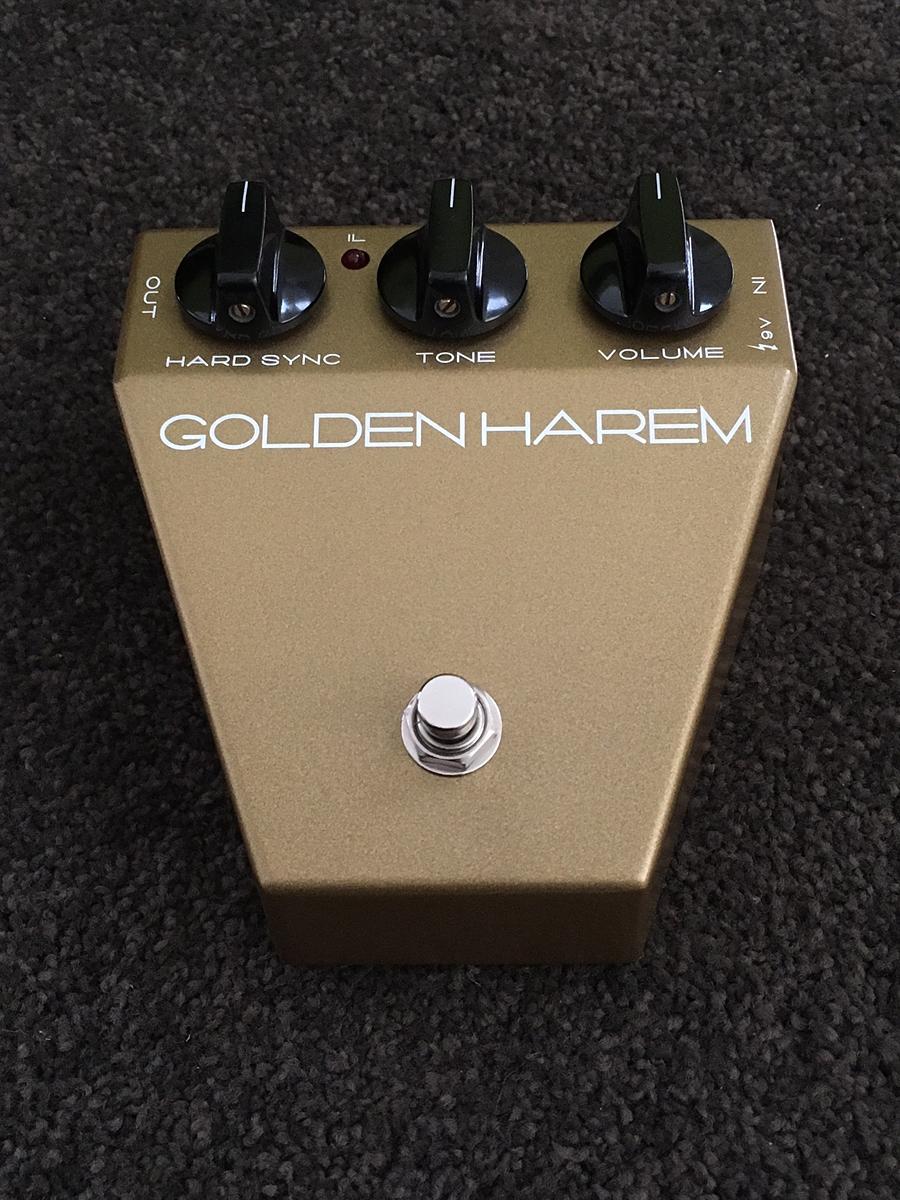 Satellite Amplifiers Golden Harem 新品 オクターブファズ[サテライトアンプリファイアーズ][ゴールデンハーレム][Octave Fuzz][Effector,エフェクター]