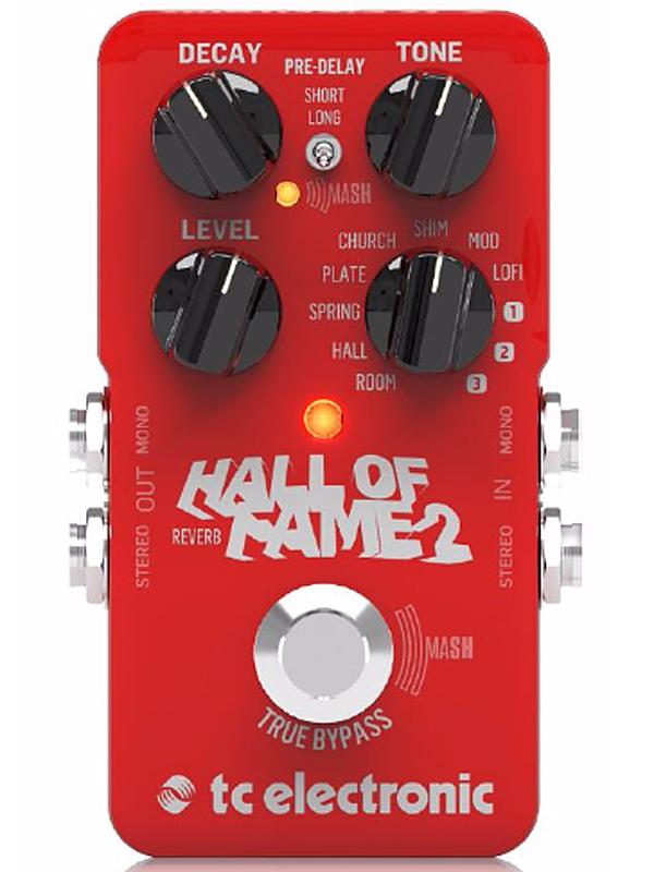2 Fame Hall t.c.electronic 新品 Of リバーブ[tcエレクトロニック][ホールオブフェイム][Reverb][Effector,エフェクター]