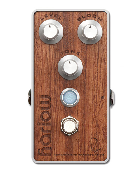 Bogner HARLOW / The Studio Series Bubinga exotic hardwood top panel 新品 ブースター/コンプレッサー[ボグナー][Booster][Compressor][Effector,エフェクター]