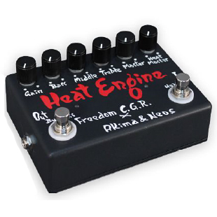 "Freedom Custom Guitar Research×AKIMA & NEOS ""Heat Engine"" brand new Overdrive [freedom], [domestic] heat engine [Overdrive] Effector, effector _otherfx"