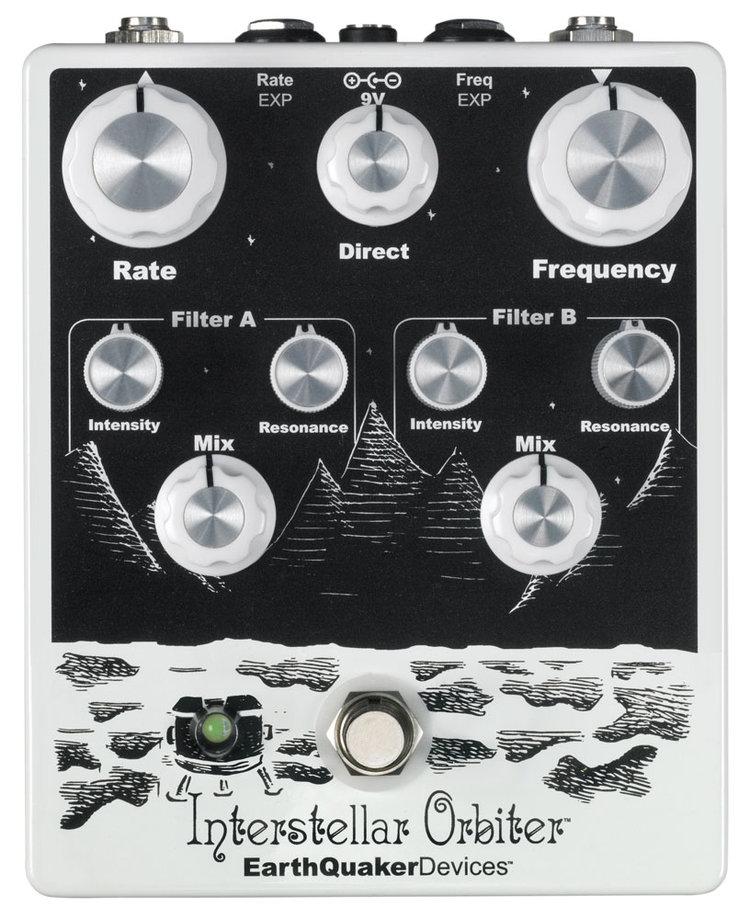 Earth Interstellar オービター][Modulation,モジュレーション][Effector,エフェクター] Quaker レゾナント フィルター Devices Orbiter [アースクエイカーデバイセス][インターステーラー 新品 デュアル