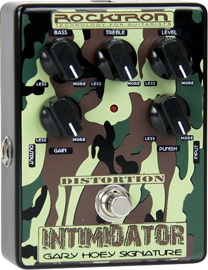 Rocktron INTIMIDATOR 新品 ディストーション[ロックトロン][インティミデーター][Distortion][Effector,エフェクター]