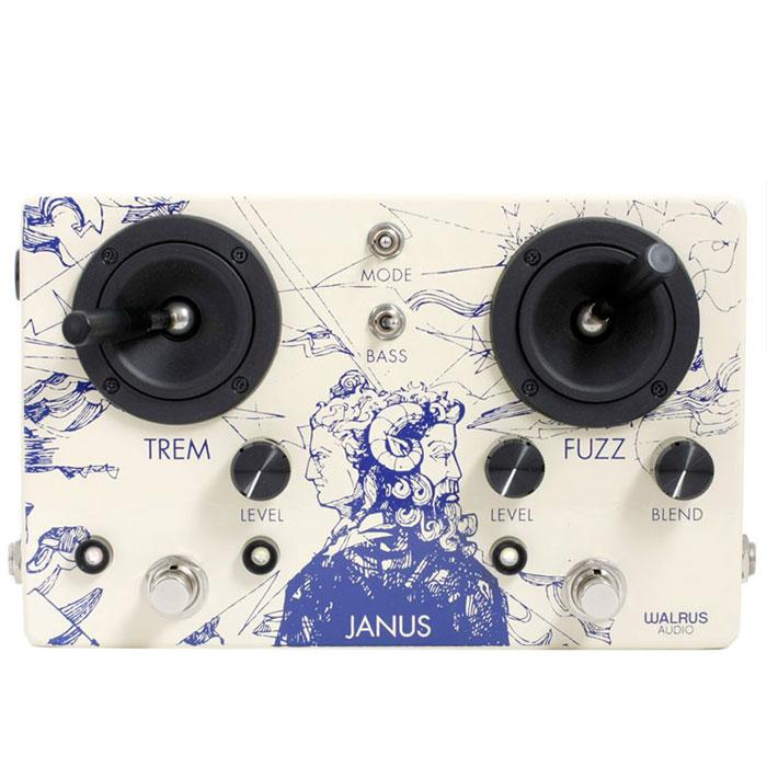 【送料無料/新品】 WALRUS AUDIO JANUS AUDIO 新品 JANUS WALRUS ファズ/トレモロ[ウォルラスオーディオ][ジャニス][Fuzz,Tremolo][Effector,エフェクター], 東久留米市:f1b3808f --- blablagames.net