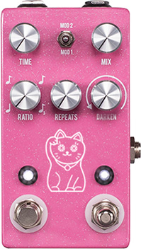 JHS PEDALS Lucky Cat Delay 新品 ディレイ[ラッキーキャット][テープ,デジタル][Effector,エフェクター]
