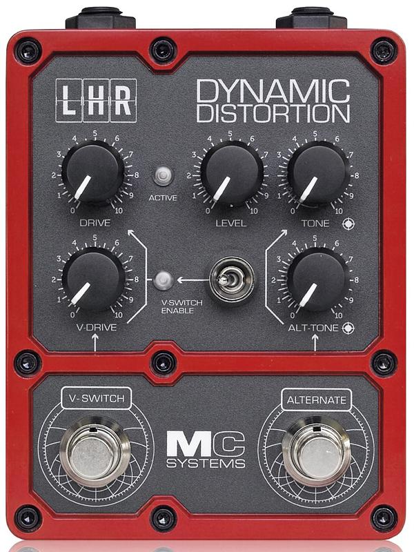 MC Systems LHR Dynamic Distortion 新品 ディストーション[MCシステムズ][ダイナミック][Effector,エフェクター]