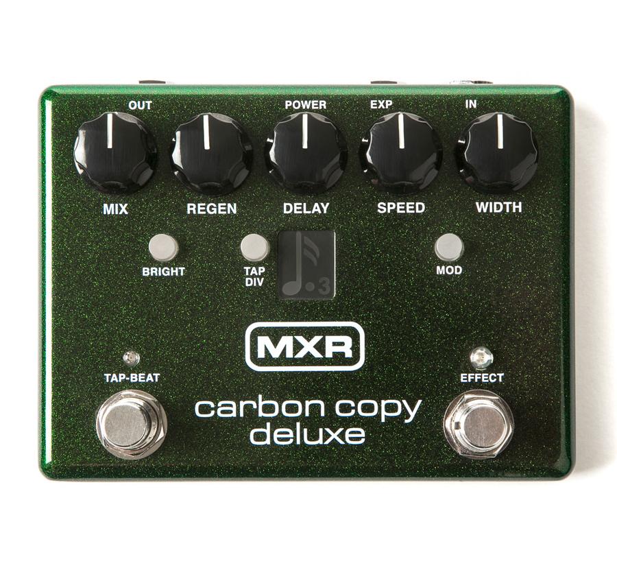 MXR M292 Carbon Copy Deluxe 新品 アナログディレイ[カーボンコピー][デラックス][エフェクター,Effector]_cde