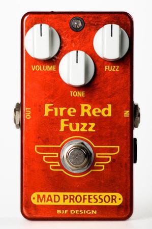 MAD PROFESSOR Fire Red Fuzz 新品 ファズ [マッドプロフェッサー][ファイアーレッドファズ][Fuzz][Effector,エフェクター]