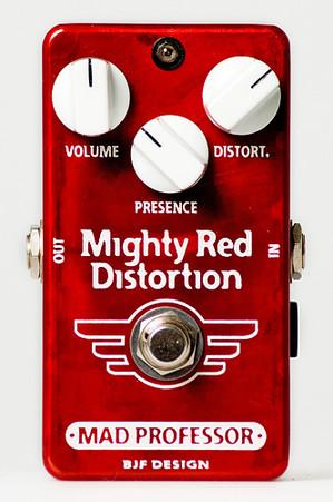 MAD PROFESSOR Mighty Red Distortion 新品 ディストーション [マッドプロフェッサー][マイティーレッド][Distortion][Effector,エフェクター]