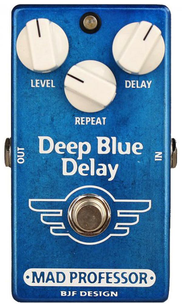 MAD PROFESSOR New Deep Blue Delay 新品 ディレイ [マッドプロフェッサー][ニュー][ディープブルー][Delay][Effector,エフェクター]