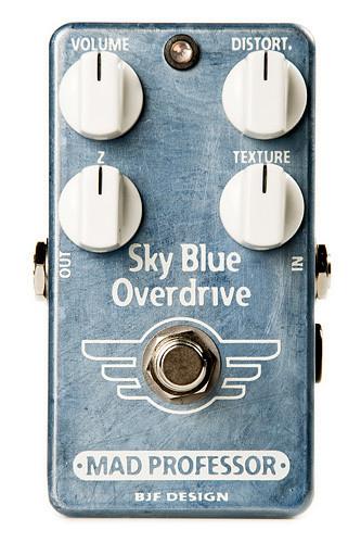 MAD PROFESSOR Sky Blue Overdrive 新品 オーバードライブ [マッドプロフェッサー][スカイブルー][Overdrive][Effector,エフェクター]