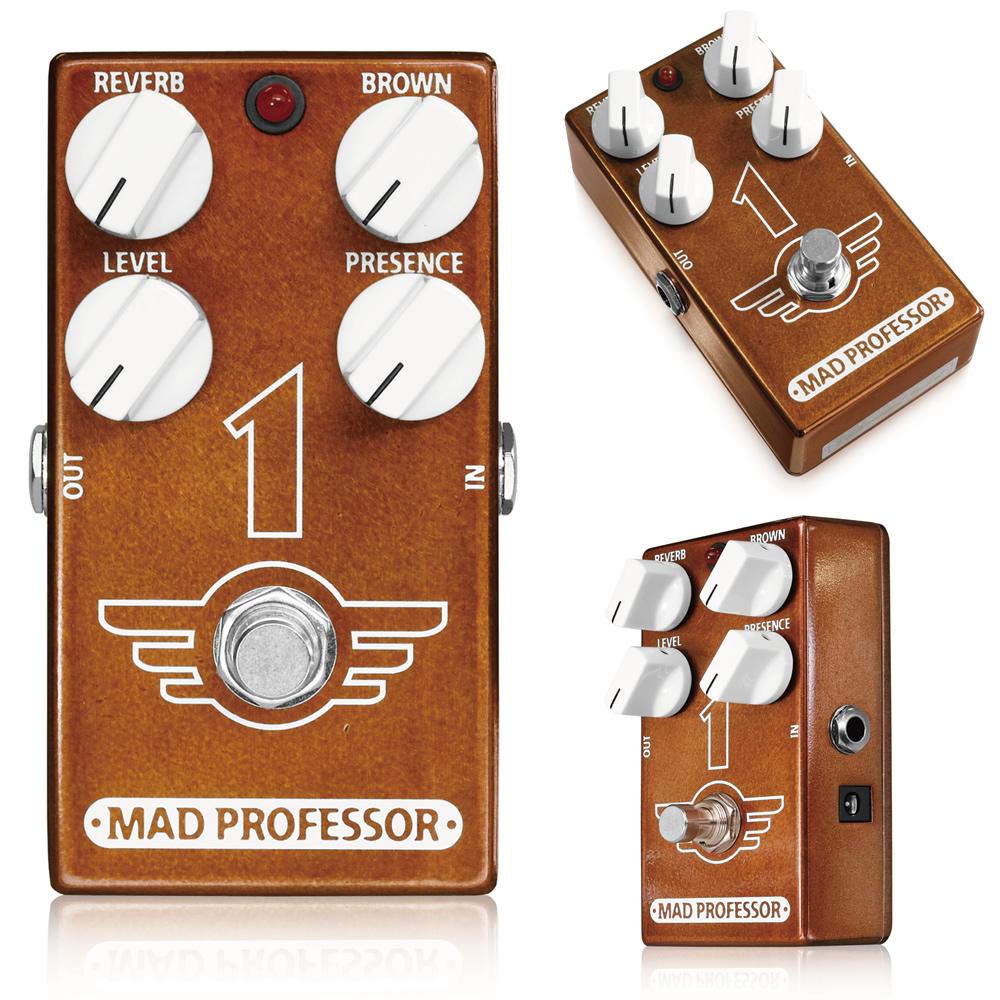 MAD PROFESSOR 1 新品 オーバードライブ/ディストーション/リバーブ[マッドプロフェッサー][ワン][Overdrive/Distortion/Reverb][Effector,エフェクター]
