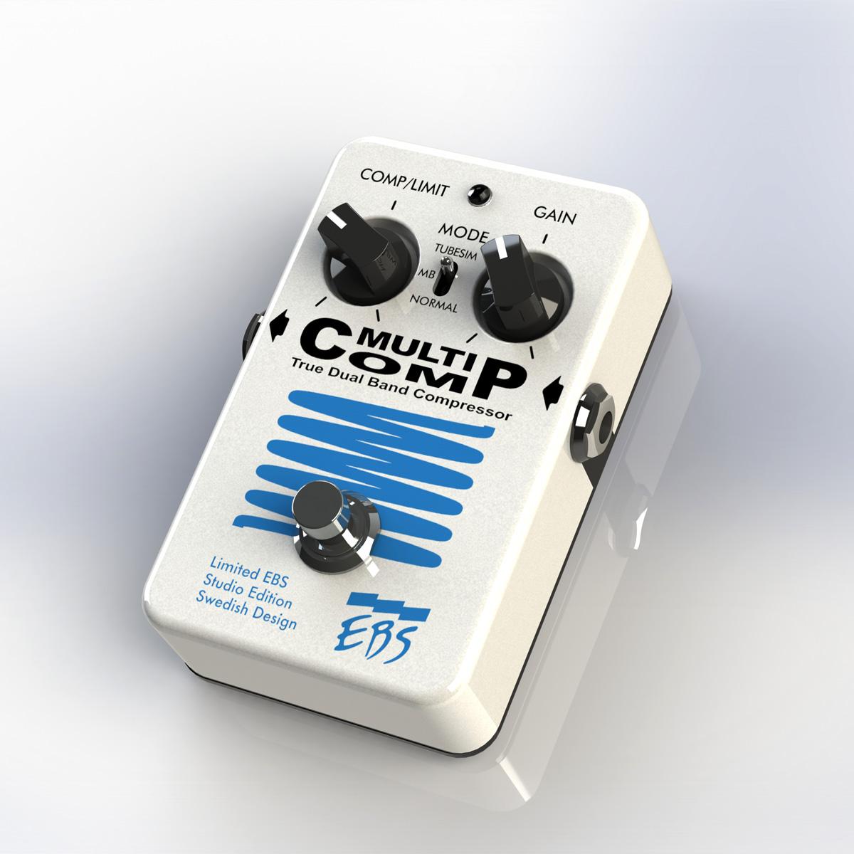 【600台限定】EBS MultiComp Studio Edition Limited Pearl White Edition 新品 コンプレッサー[マルチコンプ][Compressor][Effector,エフェクター]