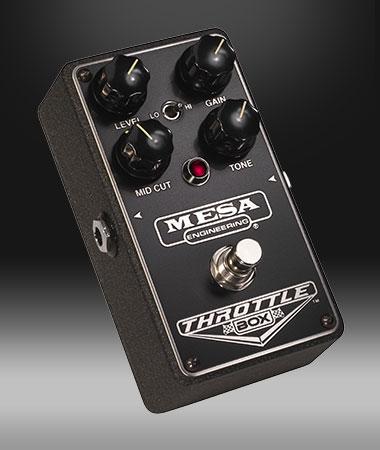 Mesa Boogie THROTTLE BOX 新品 ディストーション[メサブギー][スロットルボックス][Distortion][Effector,エフェクター]