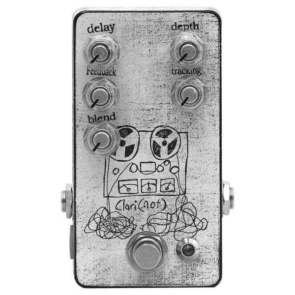 Mid-Fi Electronics Clari (not) 新品 ファズ/ヴィブラート/ディレイ [ミッドファイエレクトロニクス][クラリノット][Fuzz,Delay][Effector,エフェクター]