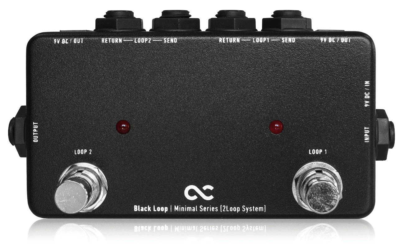 One Control Minimal Series Black Loop-2Loop with 2DC OUT-新货[一支配][minimaru][黑色循环][Line Selector][Effector,效应器]