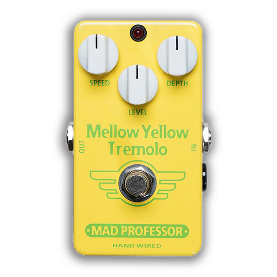 MAD PROFESSOR Mellow Yellow Tremolo HW 新品 トレモロ [マッドプロフェッサー][ハンドワイヤード][メロウイエロー][トレモロ][Effector,エフェクター]