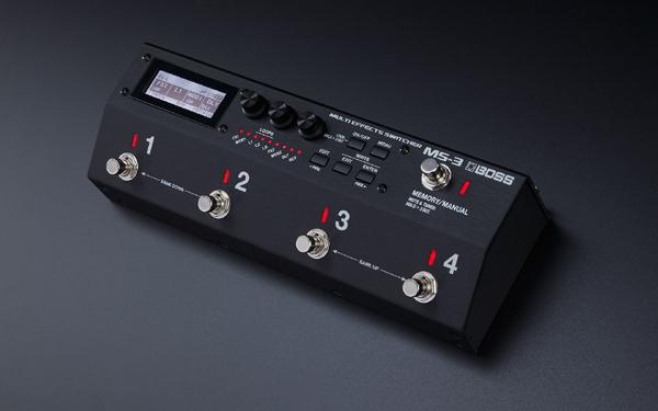 BOSS MS-3 Multi Effects Switcher新货程序开关[老板][效果开关系统][Effector,效应器][MS3]