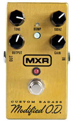 MXR Custom Badass Modified Over Drive M-77 新品 オーバードライブ[Effector,エフェクター][M77]_hzm