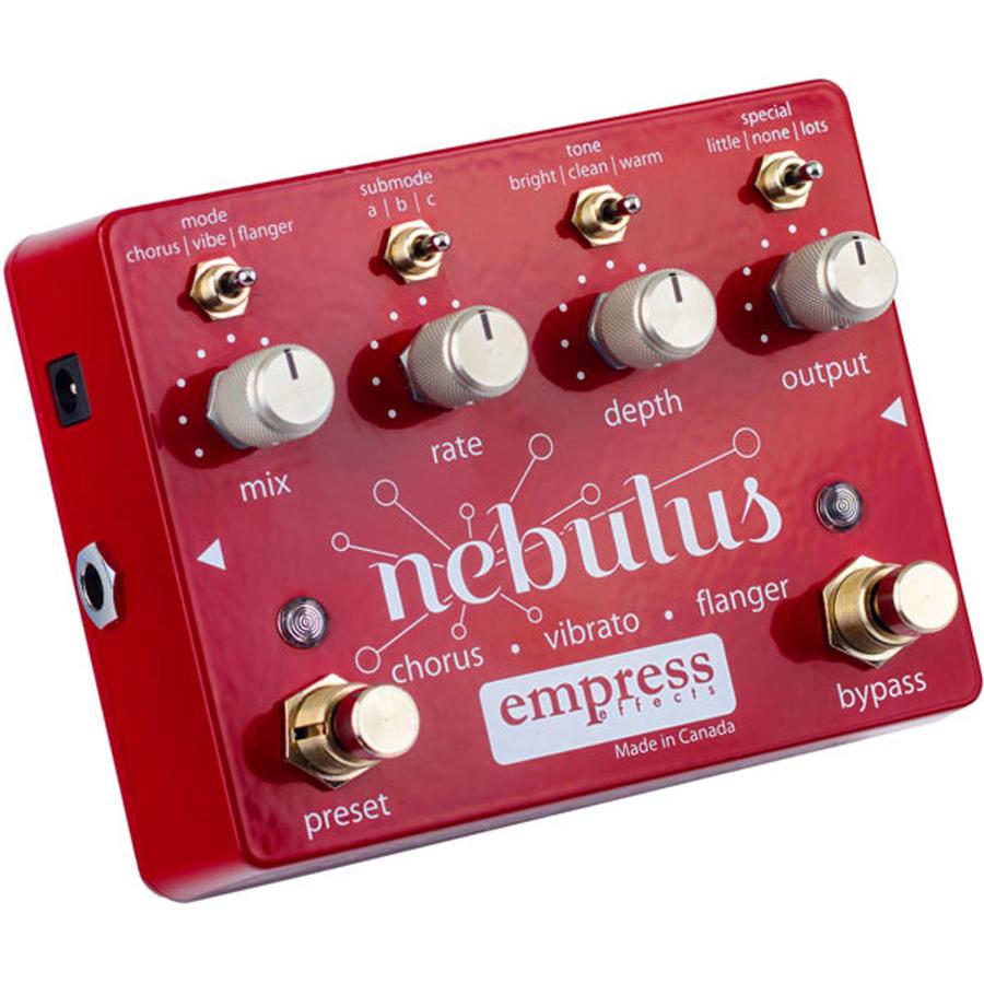 Empress Effects Nebulus 新品 コーラス/フランジャー/ビブラート[エンプレスエフェクト][ネブルス][Chorus,Modulation][Effector,エフェクター]