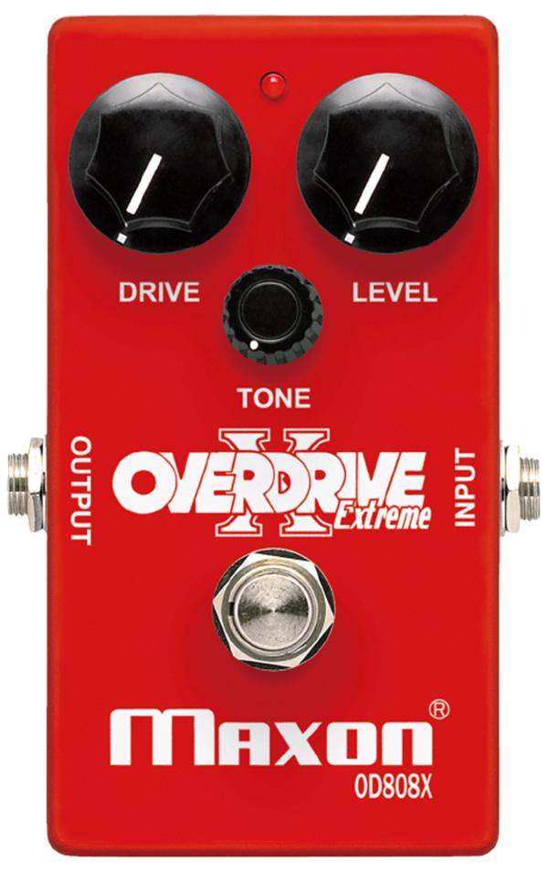 MAXON OD808X Overdrive Extreme 新品[マクソン][オーバードライブ][OD-808X]