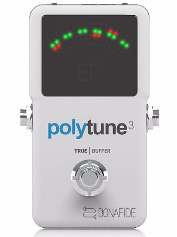 t.c.electronic polytune 3 新品 ギターチューナー[tcエレクトロニック][ポリチューン][ポリフォニックチューナー][クロマチック,Chromatic Tuner][Pedal,ペダルチューナー]