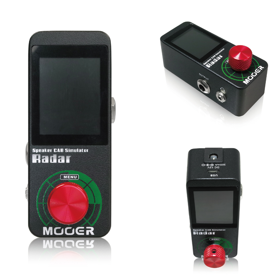 Mooer Radar キャビネットシミュレータ新品[ムーア][レーダー][Cabinet Simulation][Effector,エフェクター]