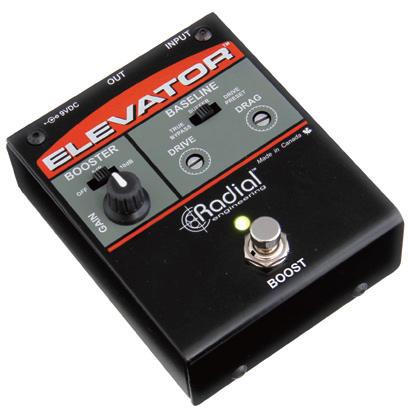 Radial ELEVATOR 新品 マルチレベル・ブースター[ラディアル,ラジアル][エレベーター][Booster][Effector,エフェクター]