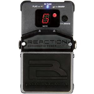 Rocktron Reaction Chromatic Tuner 新品 クロマチックチューナー[ロックトロン][リアクション][Pedal,ペダルチューナー]