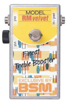 BSM RM Velvet 新品 トレブル・ブースター[Range Master,レンジマスター][Effector,エフェクター]