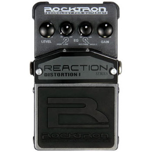 Rocktron Reaction Distortion 1 新品 ディストーション[ロックトロン][リアクション][Effector,エフェクター]