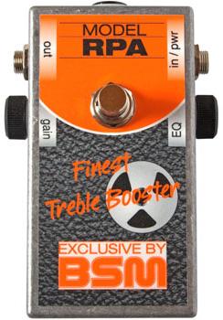 BSM RPA 新品 ブースター[Ritchie Blackmore,リッチーブラックモア][Booster][Effector,エフェクター]