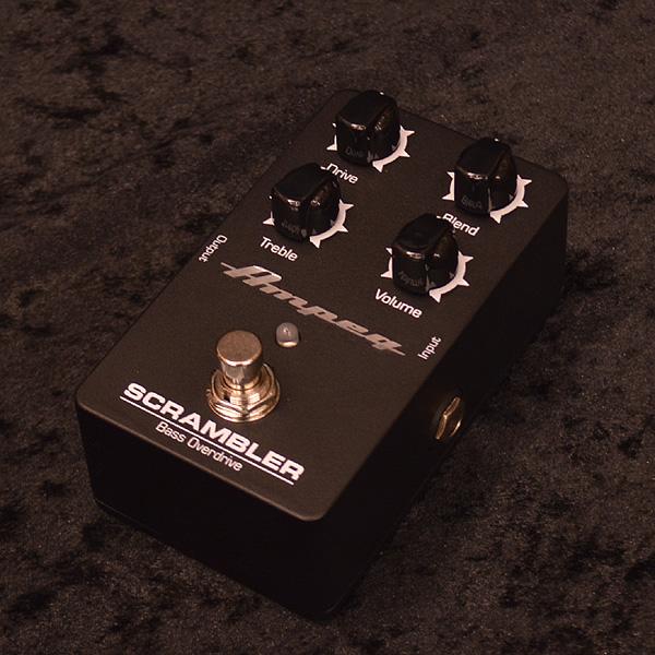 Ampeg Scrambler Bass Overdrive 新品 ベース用オーバードライブ[アンペグ][Effector,エフェクター]