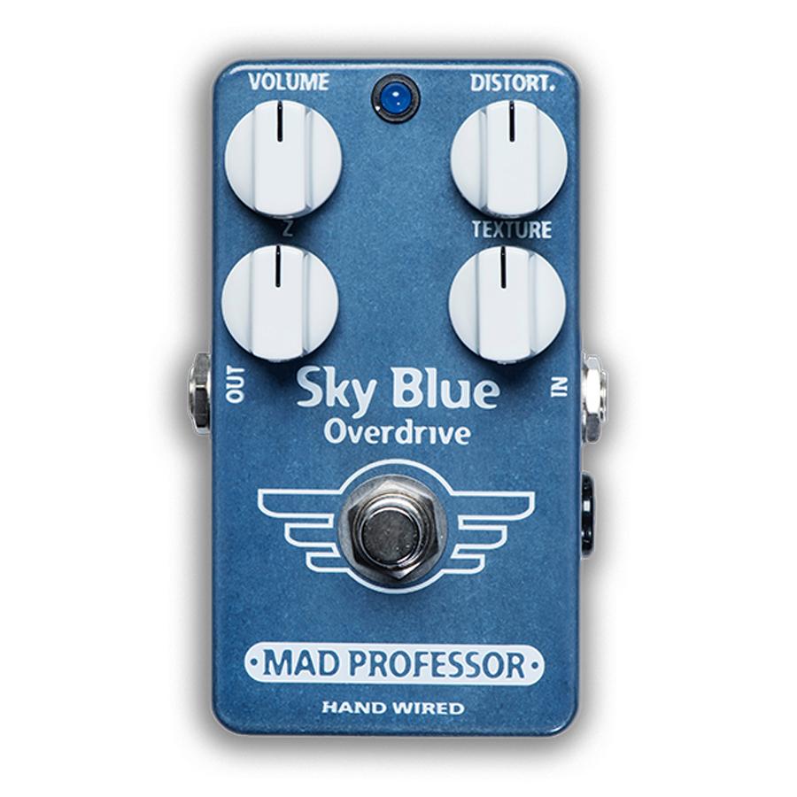 MAD PROFESSOR Sky Blue Overdrive HW 新品 ベース用オーバードライブ [マッドプロフェッサー][スカイブルー][ハンドワイヤード][Overdrive][Effector,エフェクター]
