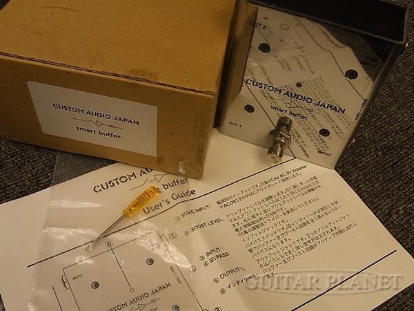 【中古】CUSTOM AUDIO JAPAN smart buffer バッファー&ブースター[カスタムオーディオジャパン][Booster][Effector,エフェクター]