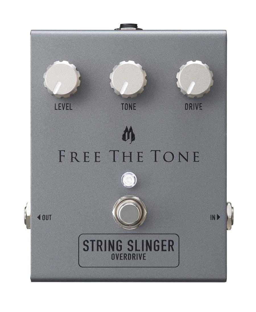Free The Tone STRING SLINGER SS-1V 新品 ドライブ[フリーザトーン][ストリングスリンガー][オーバードライブ,ディストーション][Effector,エフェクター]