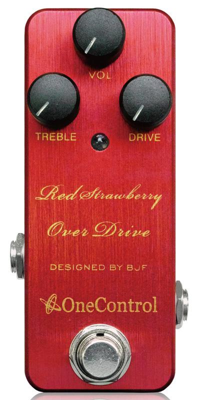 One Control Strawberry Red Over Drive 新品[ワンコントロール][オーバードライブ][ストロベリーレッド,赤][Effector,エフェクター]