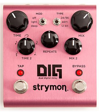 strymon DIG 超特価 新品 ディレイ 開催中 ストライモン Damage Effector Delay エフェクター ディグ ダメージコントロール Control