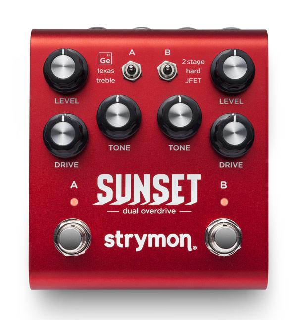 【純正アダプター付属】strymon SUNSET 新品 オーバードライブ/ディストーション[ストライモン][サンセット][Overdrive][Distortion][Effector,エフェクター]