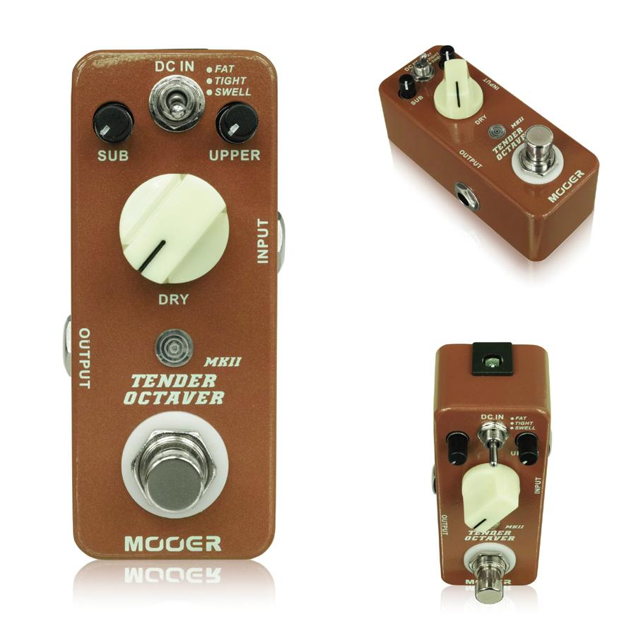 Mooer Tender Octaver MkII オクターバー 新品[ムーア][テンダーオクターバー][Effector,エフェクター]
