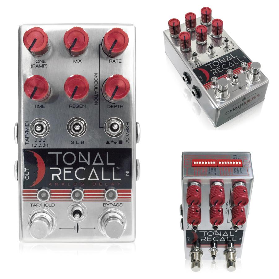 Chase Bliss Audio Tonal Recall Red Knob Mod 新品 アナログディレイ[チェイスブリスオーディオ][トーナルリコール][Analog Delay][Effector,エフェクター]