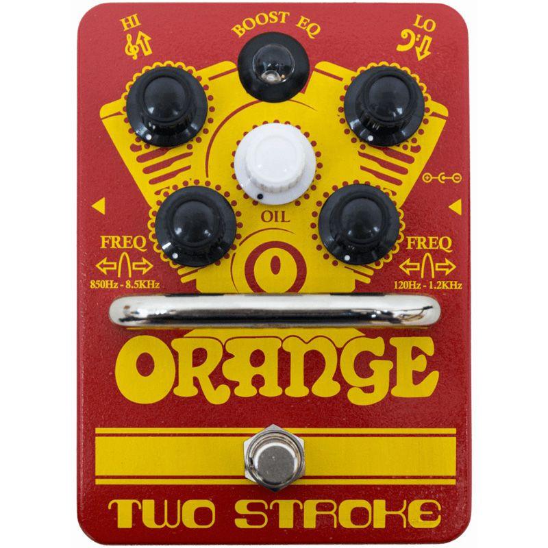 Orange Two Stroke 新品 クリーンブースター[オレンジ][ツーストローク][Clean Booster][Effector,エフェクター]